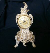 Vintage Renaissance Electric Mantle Clock