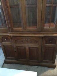 FRIDAY NIGHT BLOW OUT SALE! Oak china cabinet Saanich, V9E