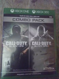 Combo Pack Black ops.... Black ops2 Youngstown, 44514