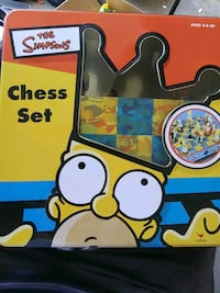 Simpsons chess complete set