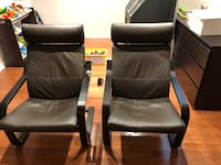 IKEA chairs (leather cushion)  Vaughan, L4H 2G9
