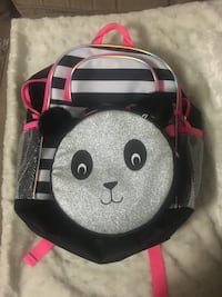 Panda backpack with lunch box Bolton, L7E 2Z3