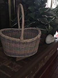 Large multicolored basket