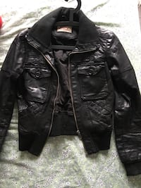Vintage Leather Jacket women's black size Small Boulogne-Billancourt, 92100