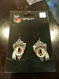 Redskins logo arrow head earrings  Great Mills, 20653