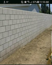 Wanted: Concrete Block Wall Bakersfield, 93312