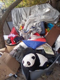 Everything must go please come and take asap dishes a bed toys cloths everything