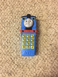 Thomas talking phone
