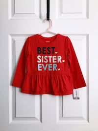 Carters top size 3T Mississauga, L5M 0H2