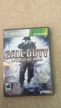 Xbox 360 Call of Duty World War 2 case Burke, 22015