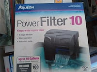 Aqueon 10 fish tank filter Annandale, 22003