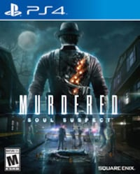PS4 GAME Murdered: Soul Suspect Calgary