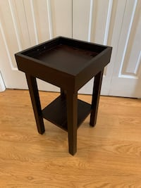 Small Wood Table with Raised Edge Markham, L3T 3L5