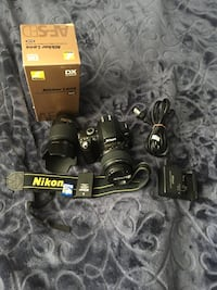 Nikon d40 and 2 lenses Kelowna, V1X 2G1