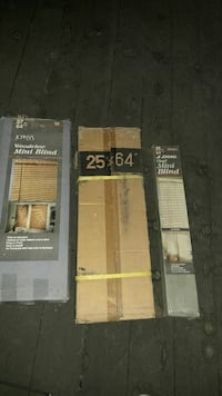 two window blinds boxes