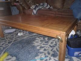 Coffee table solid wood.