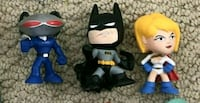 Batman black manta powergirl figures toys Halton Hills