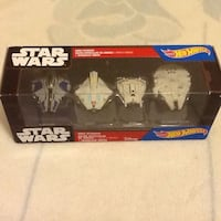 Four Hot Wheels Star Wars toys Mississauga, L5B