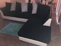 2pc Sectional Black and White and DELIVERY! Oxon Hill, 20745