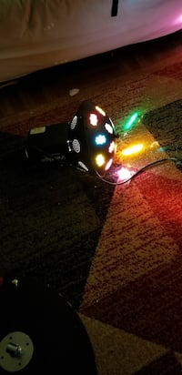 Disco party light multi color. New York, 10451