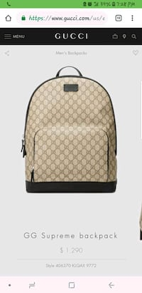 Gucci backpack new  Buena Park, 90620