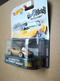 Hot Wheels Retro Entertainment - Gas Monkey Garage 68 Corvette  null