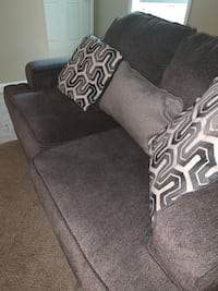 Fabulous Dhp Jasper Coil Linen Upholstered Futon Couch 4A Andrewgaddart Wooden Chair Designs For Living Room Andrewgaddartcom