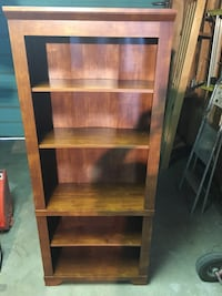 Brown wooden 5-layer shelf Winnipeg, R2W 0P7
