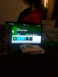 xbox one s with games and tv Trenton, 08638