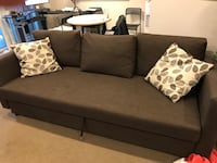 Ikea sofa bed ( Friheten) 3 times like new condition. Paid 800 Oakville, L6J 3N3