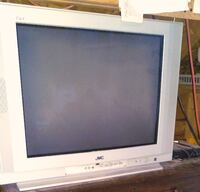gray CRT television with remote Grand Forks, ND, USA