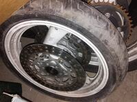 YAMAHA WHEELS, TIRES, CROSS DRILLED ROTOR AND CALIPER Bellefontaine