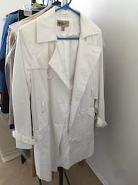white button-up coat Denver, 80220