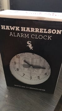 Hawk Harrelson Alarm Clock Chicago, 60626