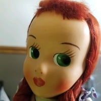 Vintage doll red head Clifton, 07014