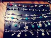 black, blue, and green beaded necklaces Henderson, 89014