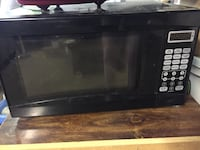 black Hamilton Beach microwave oven Greenville, 47124