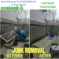 Junk removal Garage Cleaning $100-200 Specials Pickering