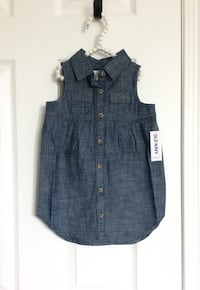 Old Navy baby girl's chambray dress size 12-18 months- New with tags Mississauga, L5M 0C5