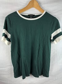green and white scoop-neck t-shirt Edmonton, T5T