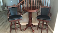 cocktail table and chair set