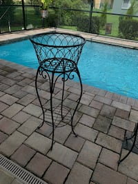 Wrought iron plant stands Spring Hill, 34608