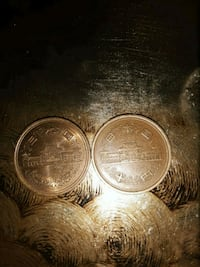 I have 2 coins from Japan in good condition.  Albuquerque, 87108
