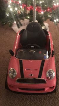 Pink and black ride on mini coupe toy car Laurel, 20708