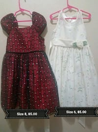 girl's two assorted dresses