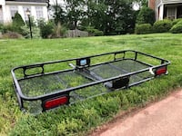 Black and red utility trailer Ashburn, 20147