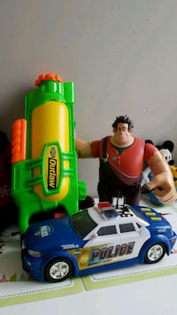 Toys ( water gun, police car and Wreck-It Ralph) Surrey, V3T 1H9