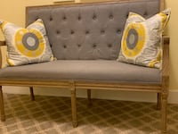 Settee with pillows Baltimore, 21211