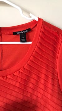red Tommy Hilfiger polo shirt Houston, 77095