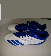 Adidas Adizero 5-Star 7.0 Low Blue/White Football Cleats Size 14 Henrico, 23294